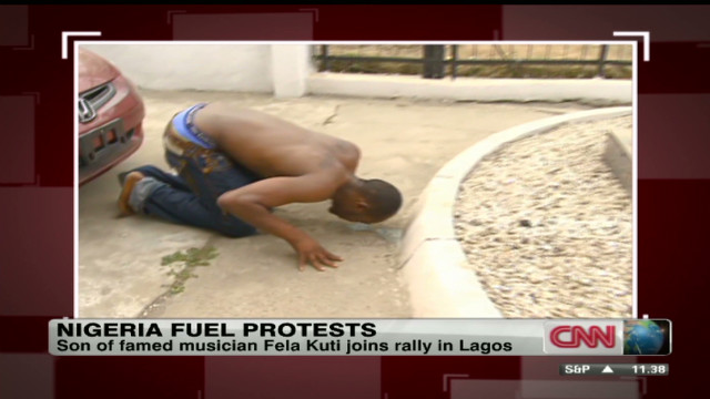 Protests over fuel price rise in Nigeria