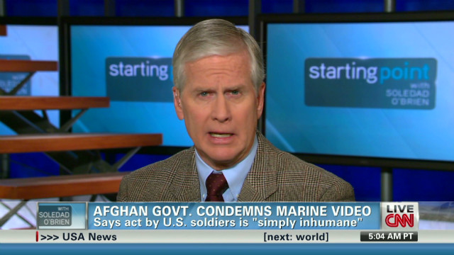 Purported Marine video under fire
