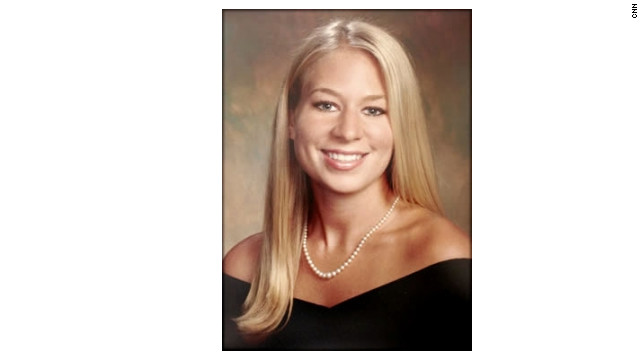 Yearbook photo of Natalee Holloway