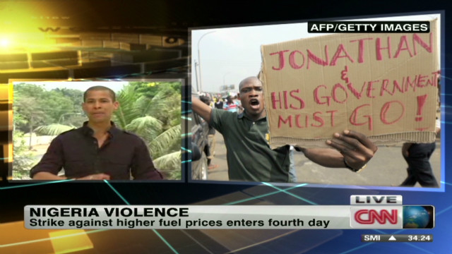 Outrage over fuel prices in Nigeria