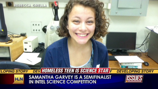 Homeless teen up for $100K scholarship