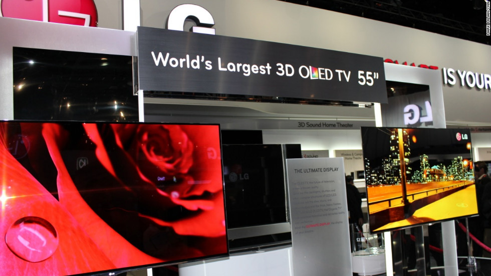 There are so many technologies fighting for dominance in televisions, but many industry observers consider organic light-emitting diode sets to be the next standard. It takes video in its current format and improves brightness and contrast. But those TVs won't come cheap to start.