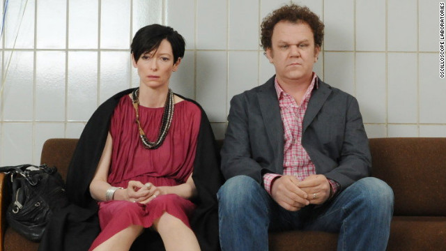 "Tilda Swinton and John C. Reilly star in ""We Need to Talk About Kevin."""