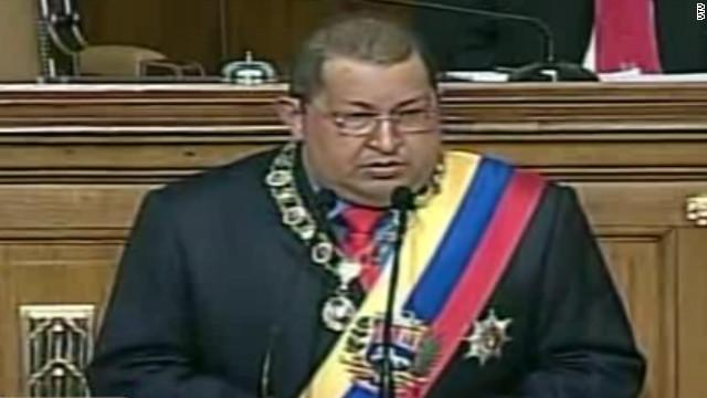 Chávez habla ante la Asamblea Nacional