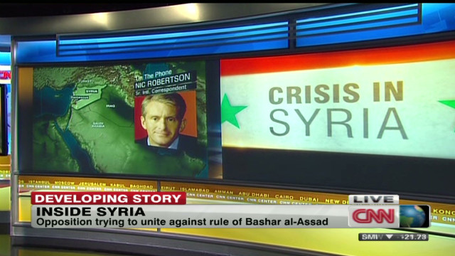 Syria atmosphere highly charged