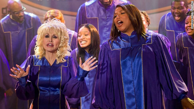 "Dolly Parton and Queen Latifah star in ""Joyful Noise."""