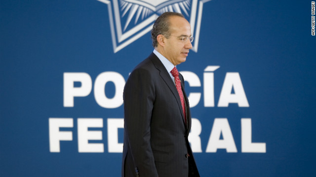 Mexico President Felipe Calderon has sought the help of the United States to stop the brutal drug violence in his country.