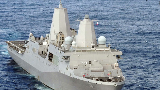 U.S. ships harassed in Strait of Hormuz