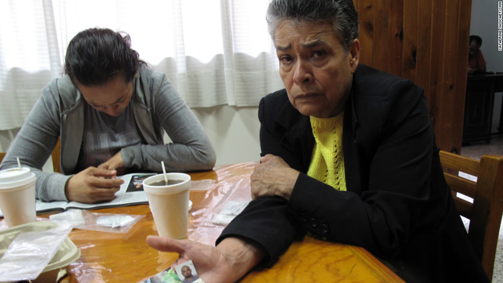 """Four of Maria Herrera Magdalena's eight children have disappeared on gold-buying trips. Three of them left behind young children who still cry out for their fathers. """"They don't understand what's going on. They think they were abandoned,"""" says Herrera, 63."""