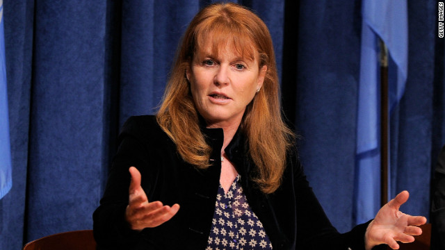 Sarah Ferguson charged over kid's film