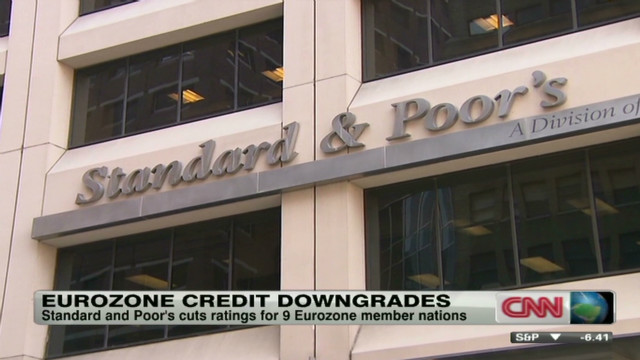 S&P's Chambers explains euro downgrades
