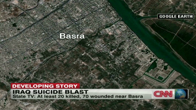 Iraq suicide bomber wore police uniform