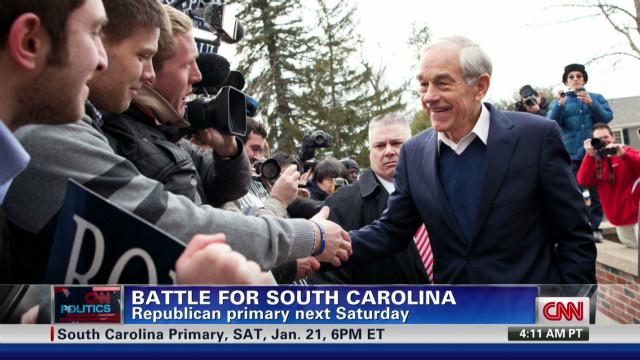 Battle for South Carolina heating up