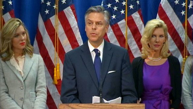 Huntsman suspends presidential campaign
