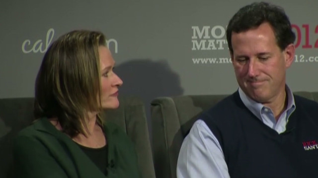 Santorum's wife: Rick does not hate gays