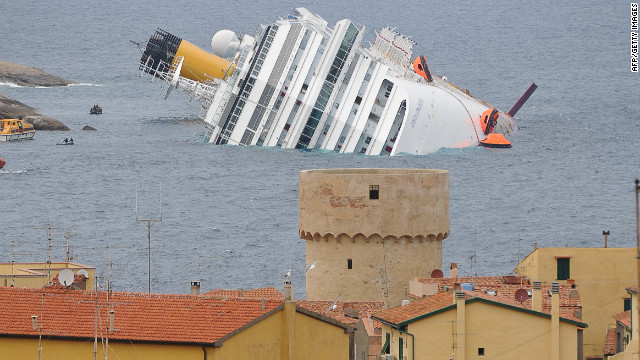 Captain 'shocked' at Italy accident