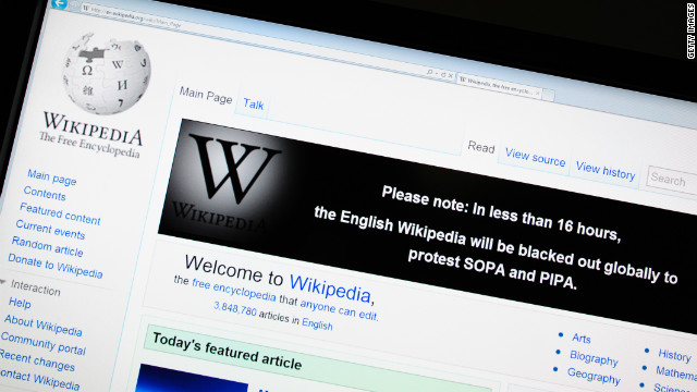 Wikipedia asks for your cash