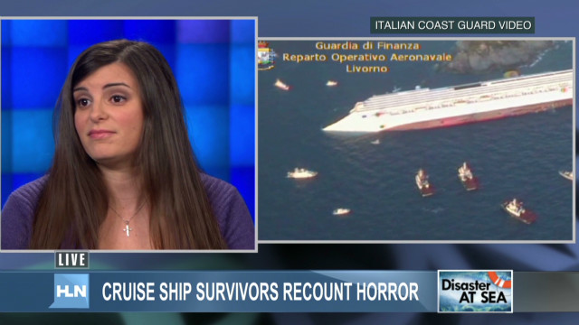 Cruise survivor: 'It was terrifying'