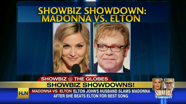 Bad blood between Elton John and Madonna