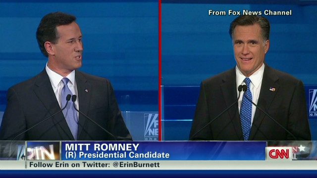 GOP candidates take aim at Romney
