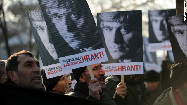 Turkish-Armenian journalist Hrant Dink was gunned down outside the Istanbul office of the Agos newspaper in 2007.