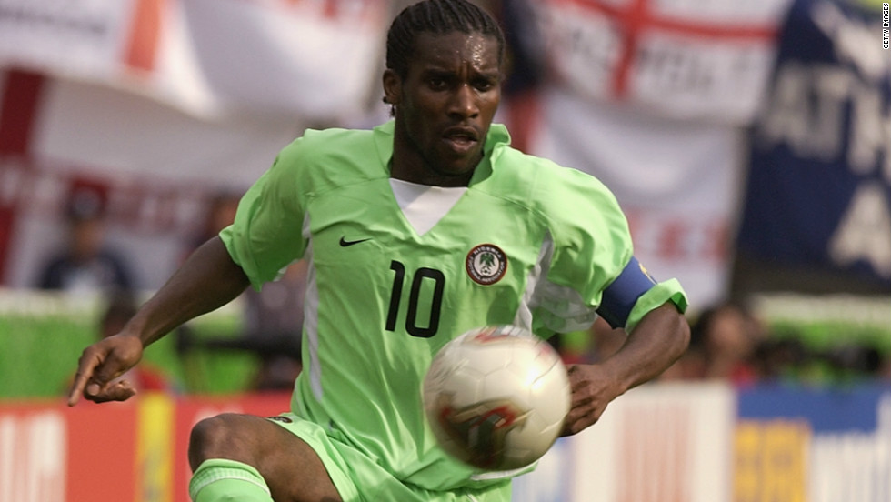 "Jay-Jay Okocha played for clubs in England, Germany, France and Turkey in his 18-year career. He also won the Africa Cup of Nations with Nigeria in 1994 and played in the World Cup the same year. Fans of English club Bolton Wanderers, where Okocha played for four seasons, sang of him ""he's so good they named him twice."""