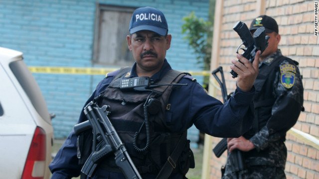 The U.S. Peace Corps has pulled out of Honduras while it reviews security. According to the U.N. Honduras has the world's highest homicide rate.