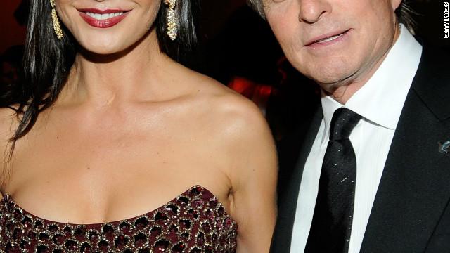 Catherine Zeta-Jones and Michael Douglas.
