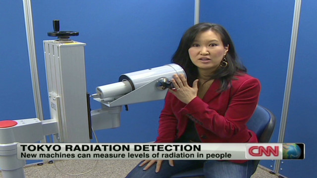 Tokyo radiation on detection