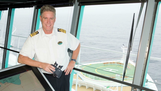 The life of a cruise ship captain