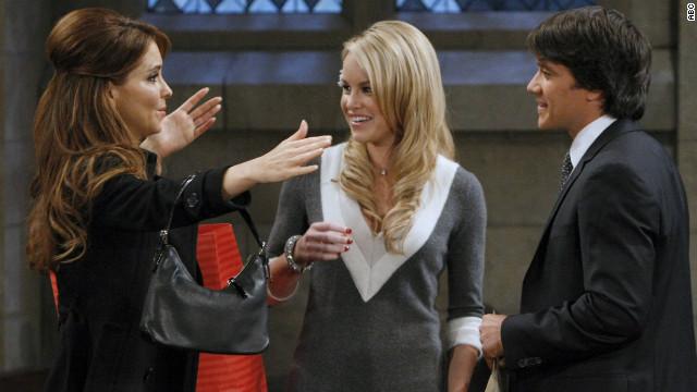 "Lisa LoCicero, Julie Berman and Dominic Zamprogna star in ""General Hospital."""