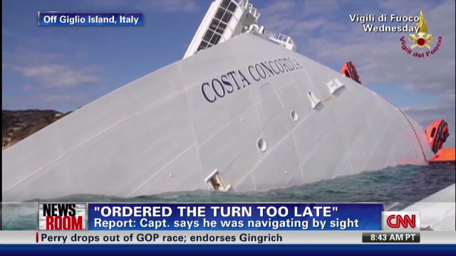 Cruise ship survivors describe chaos