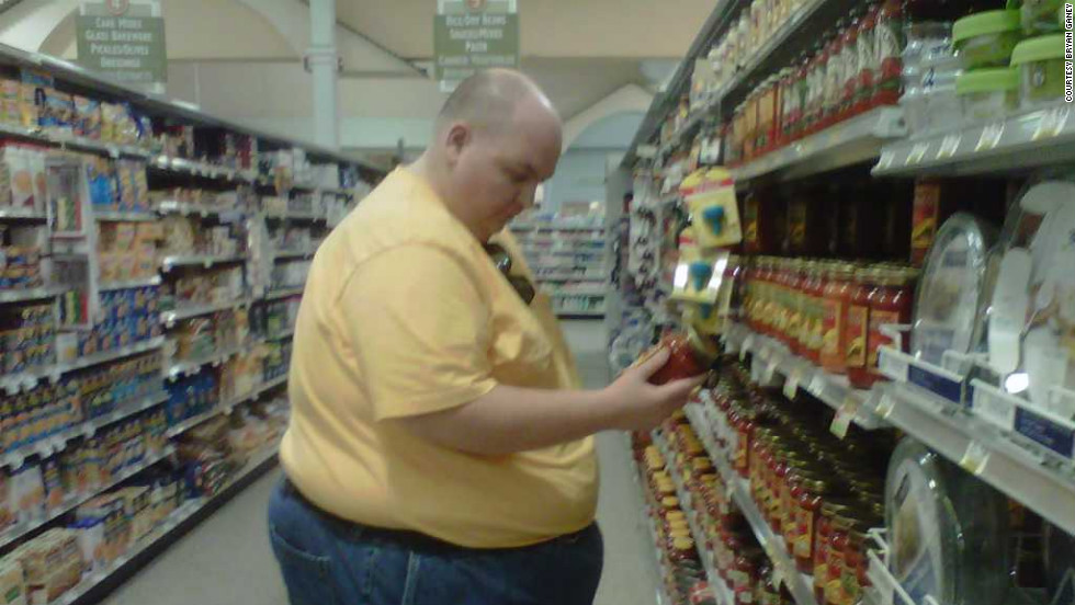 At the beginning of his diet, Bryan analyzed the label of every food he bought. Salt is one of his biggest worries, Martha says.