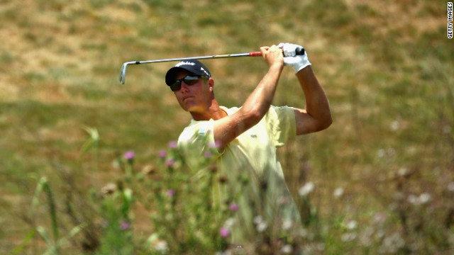 Nicolas Colsaerts holds the eighth-largest opening round lead in European Tour history.