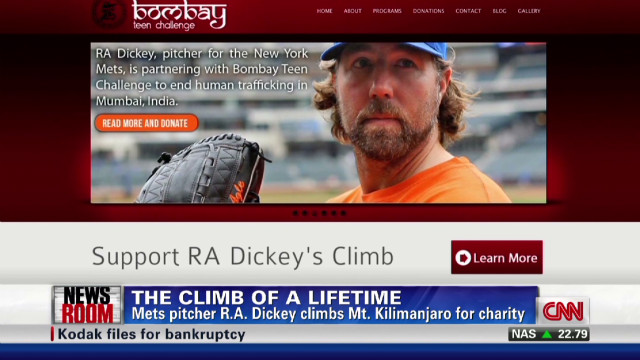 Mets pitcher risks career for cause