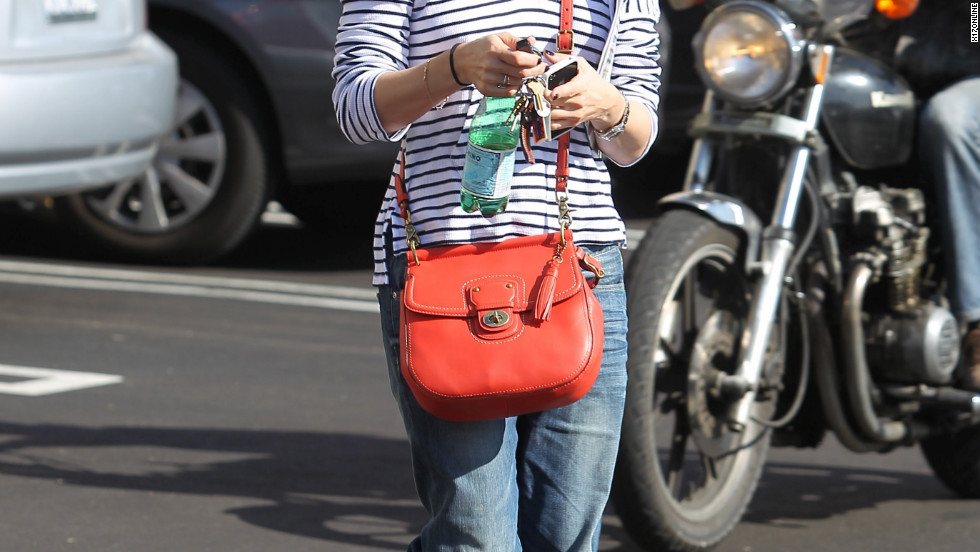 Selma Blair grabs lunch in Beverly Hills.