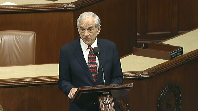Ron Paul known as 'Dr. No' of Congress