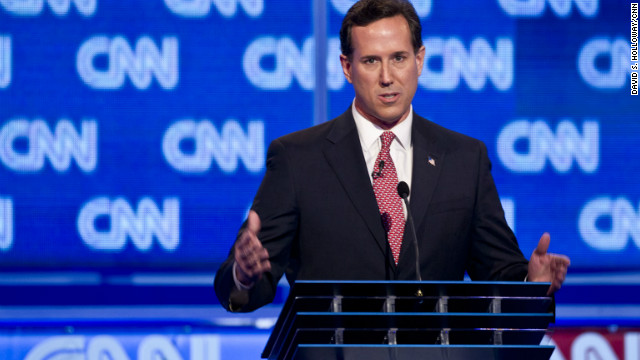 Former Sen. Rick Santorum scored strongly at Thursday night's CNN South Carolina Republican debate, says Todd Graham.