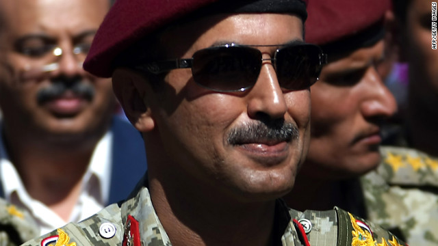 Yemini President Saleh's eldest son, Ahmed, runs the guards who allegedly allowed suspected al Qaeda militants into Radda.