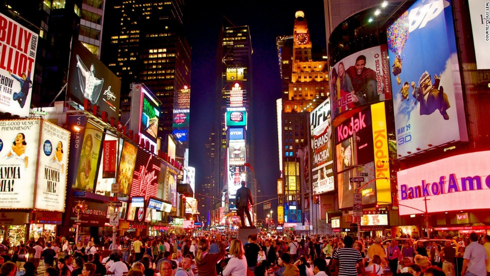 "Lulis Leal's photo showcases the splendor of the ""crossroads of the universe,"" which is how she referred to Times Square. ""In addition to the dazzling billboards, Broadway theaters, street vendors and throngs of crowds, it is bursting with energy and excitement. I always walk away from Times Square feeling inspired."""