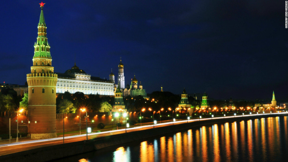 """Rick Cordsen took this photo of the Kremlin in Moscow. """"Moscow is a beautiful place, the people are friendly -- but you have to reach out to them first."""""""