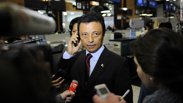 Marc Ravalomanana, seen here in February 2011, was ousted as Madagascar's president in a March 2009 coup.