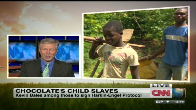 Child slaves and chocolate