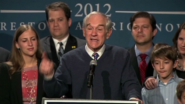 Ron Paul:'This is a cause I will pursue'