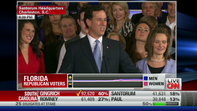 Santorum to Gingrich: 'Good job buddy!'