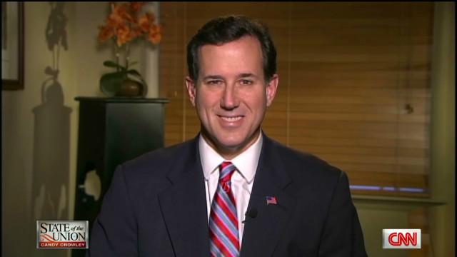 Santorum: GOP in for a long race