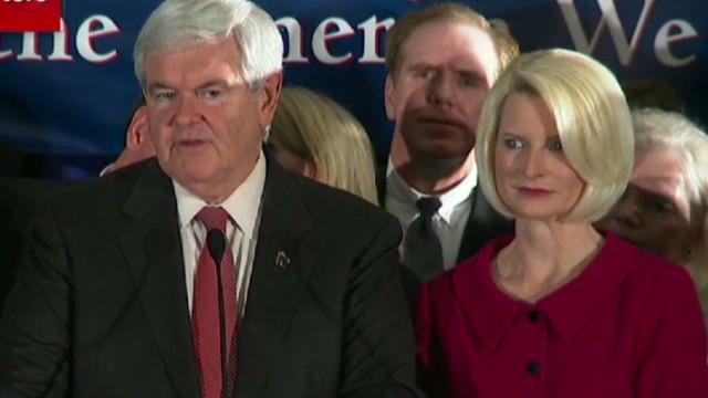 Gingrich praises opponents