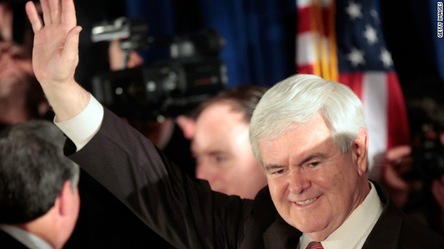 Exit polls give clues to Gingrich win