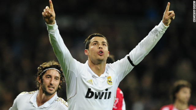 Cristiano Ronaldo scored twice as Real Madrid beat Athletic Bilbao 4-1 in Spain's La Liga.