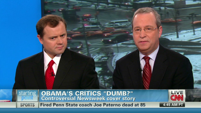 Are Obama's critics really dumb?